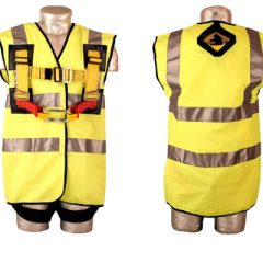 Hi Vis Jacket for Harness