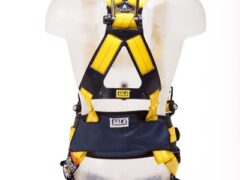 3M™ DBI-SALA® Delta™ Harness with Belt, Quick Connect Buckles and Central Belt D-ring