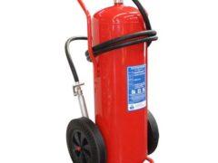 100kg Powder Wheeled Fire Extinguisher