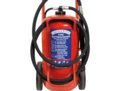 Britannia Norfolk 50kg Wheeled ABC Dry Powder Extinguisher