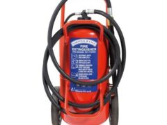 Britannia Norfolk 50kg Wheeled Monnex Powder Extinguisher