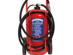 Britannia Norfolk 60kg Wheeled ABC Dry Powder Extinguisher