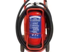 Britannia Norfolk 63kg Wheeled Monnex Powder Extinguisher
