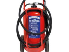 Britannia Norfolk 70kg Wheeled BC Dry Powder Extinguisher