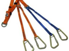 Four Point Harness for use with Basket Stretchers